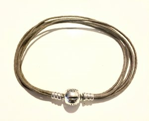 Pandora Arm Decoration silver-colored-olive green