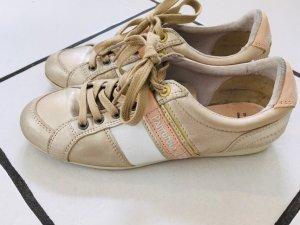 Original Pantofola d`Oro Damen Sneaker Beige Rosa Gold 38