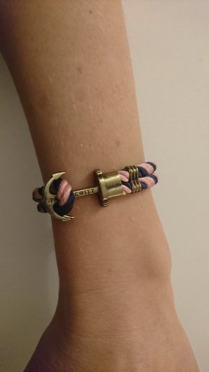 Original Paul Hewitt PHREP Anker Armband Blau Rosa