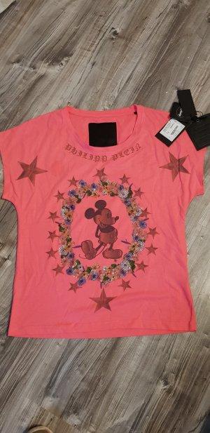 Original Philippe Plein Shirt Disney Mickey Mouse Strass M NEU & Etikette