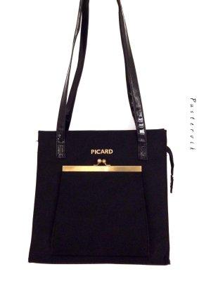 Original Picard Vintage Handtasche Blogger Style Tasche