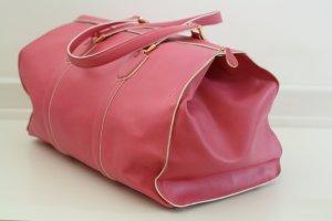 Original Pinker Schumacher Weekender Reisetasche Leder Blogger Fashion