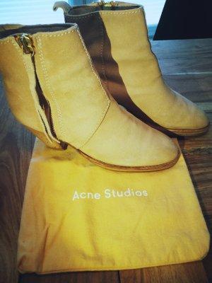 Original PISTOL BOOTS von ACNE Studios in beige