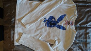 Playboy Longsleeve white-blue