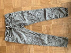 Please Pantalon boyfriend kaki-gris vert