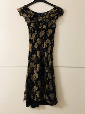 Polo Ralph Lauren Volante jurk veelkleurig