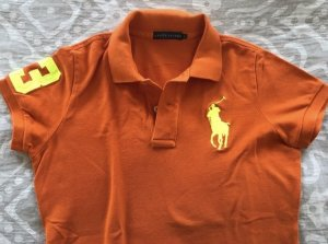 Original Polo Shirt von Ralph Lauren in orange