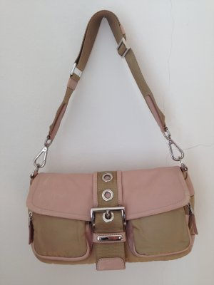 Prada Sac à main or rose-beige