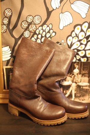 Original Prada Boots Stiefel Gr 41 Braun
