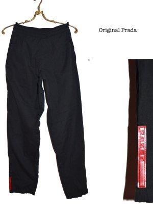 Prada Low-Rise Trousers black-anthracite