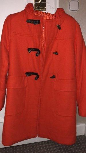 Prada Duffel Coat orange-red