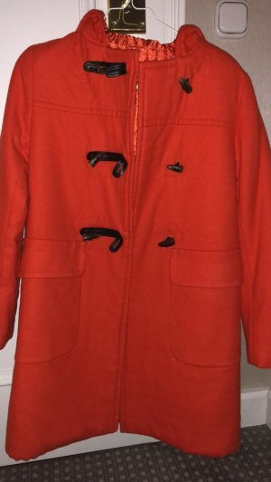 Prada Duffle-coat orange-rouge