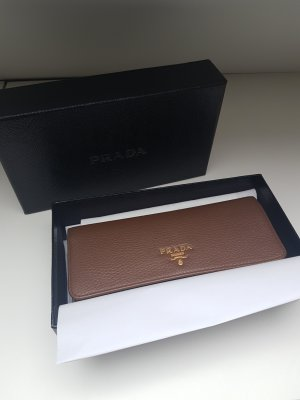 Prada Wallet brown-beige