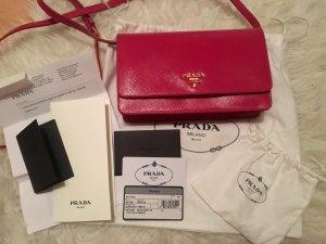 Original Prada Handtasche Leder Neu mit Rechnung pink