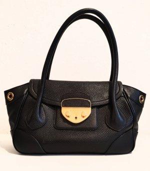 Original Prada Handtasche pebbled leather / wie neu!