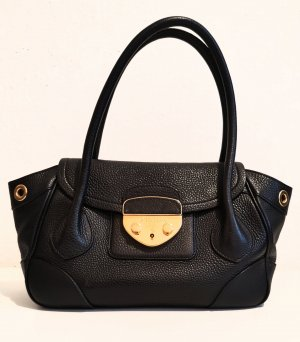Original Prada Handtasche pebbled leather / wie neu!