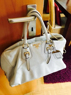 Prada Sac Baril multicolore cuir
