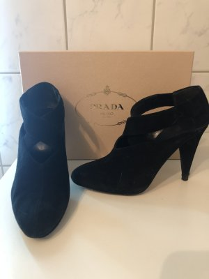 Original Prada High Heels schwarz 36