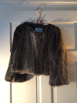 Original Prada Pelzjacke aus Fake Fur