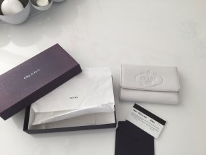 Prada Wallet white