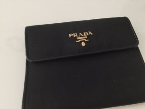 Prada Cartera negro-color oro