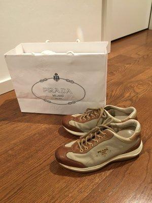 Original Prada Sneaker Schuhe mit Leder