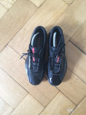 Original PRADA Sneakers in schwarz Lack Größe 40!!! Kaum getragen !