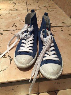 Original Prada Sneakers indigo-blau