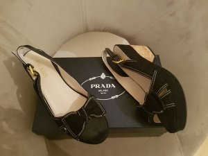 Original Prada Sommerschuhe Pumps Kork SALE