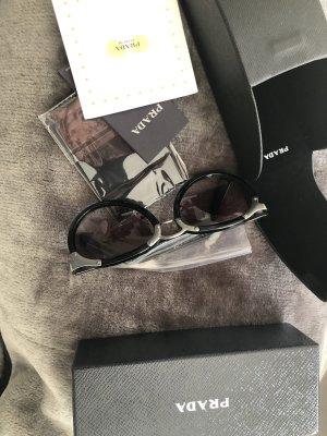 Prada Pilotenbril zwart-zilver