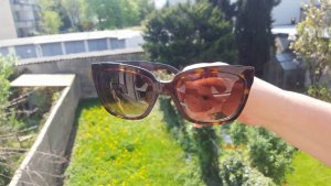 Prada Sunglasses dark brown