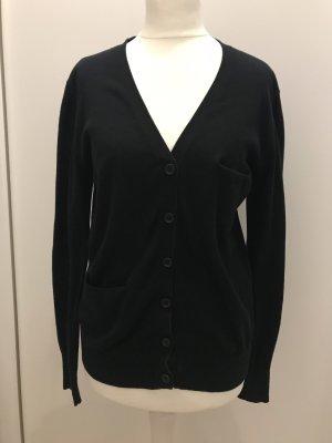Prada Cardigan tricotés noir coton