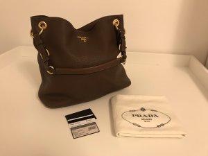 Prada Carry Bag brown-dark brown