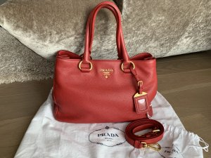 Prada Handbag red leather