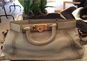 Prada Crossbody bag light grey-grey