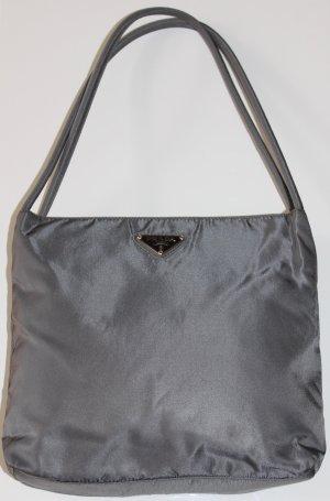Original Prada Tessuto Tasche Handtasche B6243 grau grün Ardesia