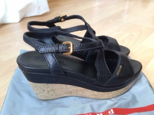 Original PRADA Wedges Sandalen