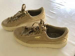 Puma Lace-Up Sneaker beige