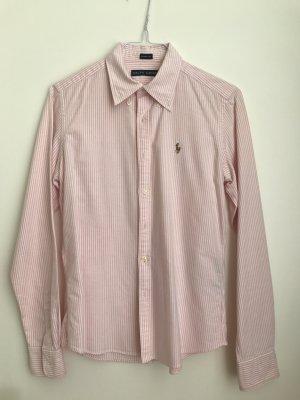 Original Ralph Lauren Bluse - rosa-weiß gestreift