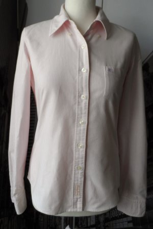 original RALPH LAUREN Polo Jeans Oxford Bluse Gr. L rosa weiß wenig getragen