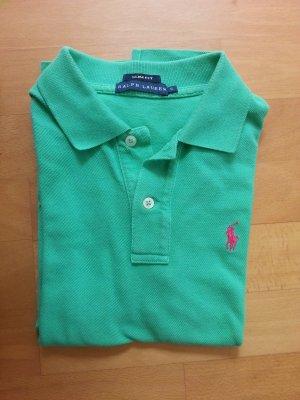 Original Ralph Lauren Polo Shirt!! XS grün pink