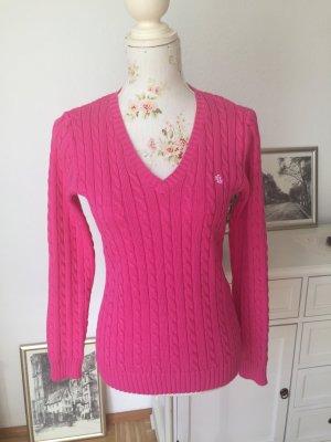 Original Ralph Lauren Pulli Pullover Gr. XS Pink, NEU