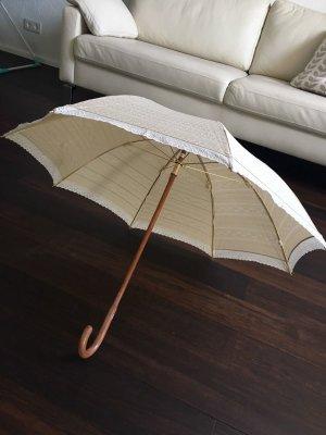 Original Ralph Lauren Schirm Stockschirm Sonnenschirm Regenschirm Hochzeit beige