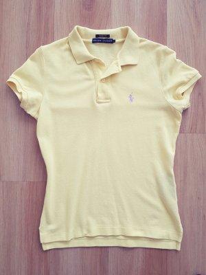 ORIGINAL Ralph Lauren Slim Fit Polo Shirt hellgelb / gelb Gr. S *** sehr guter Zustand ***