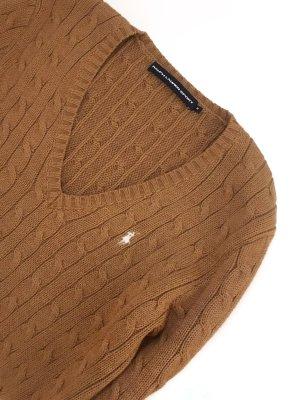 Original Ralph Lauren Sport Polo Zopf Strick Pullover Pulli Marke