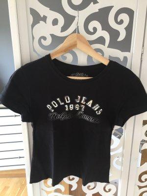 Original Ralph Lauren T-Shirt mit Pailletten