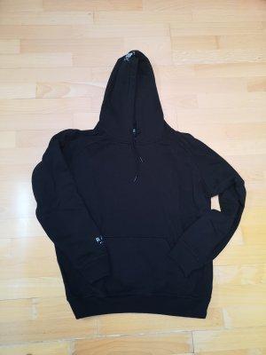 Maglione con cappuccio nero