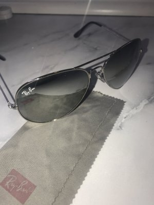 Original Ray-Ban Aviator Sonnenbrille verspiegelt Unisex RB-3028 W3277