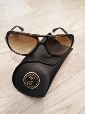 Ray Ban Sunglasses brown synthetic fibre