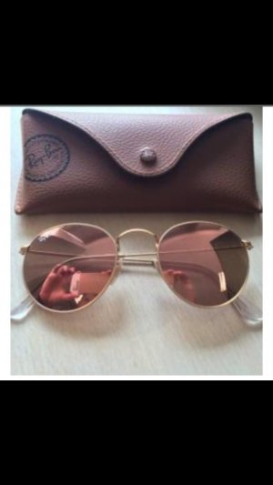 Original Ray Ban Sonnenbrille in Rose